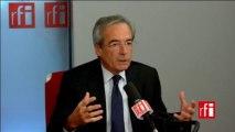 Frédéric Saint-Geours, président du Groupe des fédérations industrielles (GFI), membre du conseil exécutif du Medef