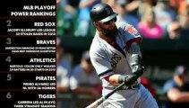 MLB Playoffs Power Rankings