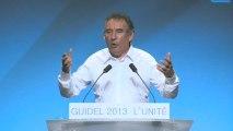 UR2013 - Discours de clôture de François Bayrou