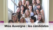 Miss Auvergne 2013 - les candidates en images