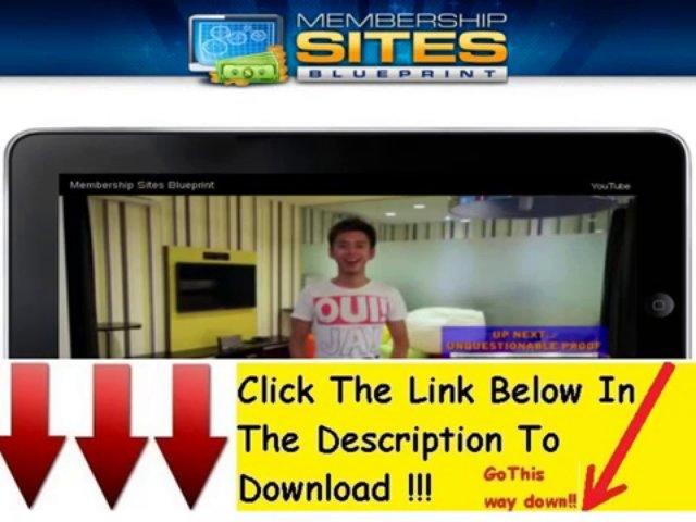 Membership Sites Blueprint Free Download + Membership Sites Blueprint Join