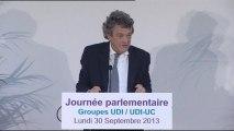 """Jean-Louis Borloo : """"Il faut aller au-delà du MoDem"""""""