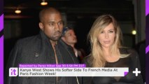 Kanye West Shows His Softer Side To French Media At Paris Fashion Week!