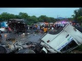 Thailand crashes: truck collides with night bus, 19 dead