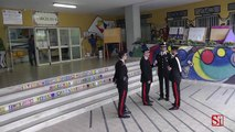 Napoli - Scampia, ritrovati pc e strumenti musicali rubati a scuola -2- (30.09.13)