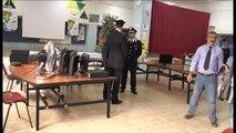 Napoli - Scampia, ritrovati pc e strumenti musicali rubati a scuola -1- (30.09.13)