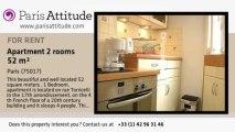 1 Bedroom Apartment for rent - Porte Maillot/Palais des Congrès, Paris - Ref. 6591