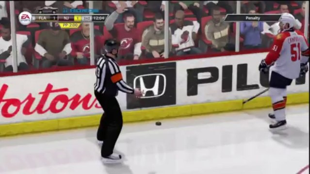 PS3 - NHL 13 - Be A GM - NHL Game 10 - New Jersey Devils vs Florida Panthers