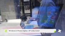 Windows 8 Floats Higher, XP Sinks Lower