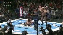 Laughter7 (Katsuyori Shibata & Kazushi Sakuraba) vs. Manabu Nakanishi & Yuji Nagata (NJPW)
