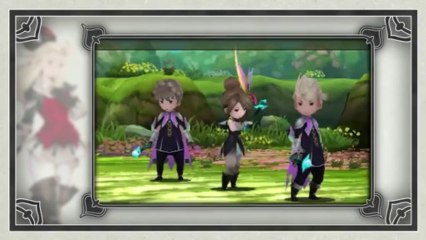 Bravely Default - Bande-annonce (Wii U) de Bravely Default : Where the Fairy Flies