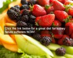 Awesome diet for kidney failure - kidney diet secrets researched and tested diet for kidney failure