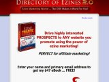 Ad Blaster - Directory Of Ezines 2.0 - Direct Traffic (200000 people) To Your web site