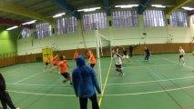 2012/2013 - D1MA VOLLEY PARIS - SCUF A VS AS Russe - 3ème Set - Eustak 4, gros bloc