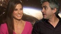 Interview zu Gravity mit Sandra Bullock und Alfonso Cuarón