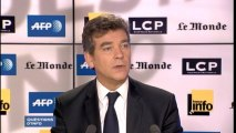 """Arnaud Montebourg : """"nous avons une base productive trop étroite pour assurer la prospérité de notre pays"""""""