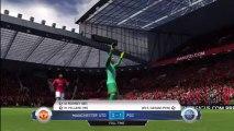 Xbox 360 - Fifa 14 - Career - Pre Season Match 1 - Manchester United vs PSG