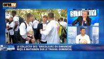 BFM Story: Travail dominical - le collectif des bricoleurs du dimanche contre-attaque - 02/10