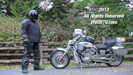 motorcycle camera POV rear and front Hi Definition. Canada