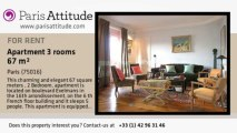 2 Bedroom Apartment for rent - Auteuil, Paris - Ref. 5673