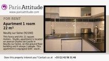 Studio Apartment for rent - Neuilly sur Seine, Neuilly sur Seine - Ref. 6620