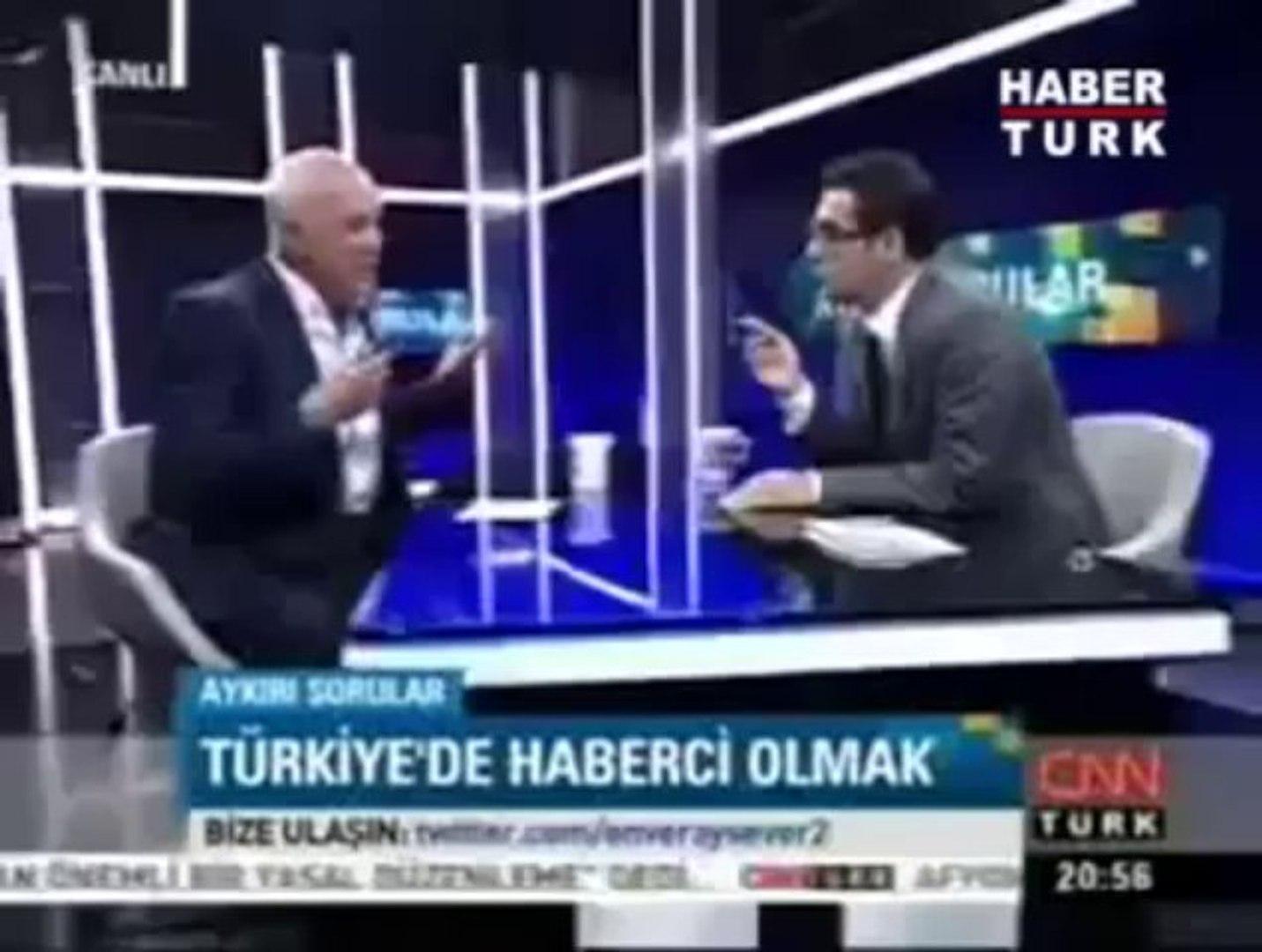 Birand'dan Cüneyt Özdemir'e p kurusu!