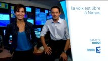 BA Inondations Nîmes La Voix est Libre  France 3 Languedoc-Roussillon