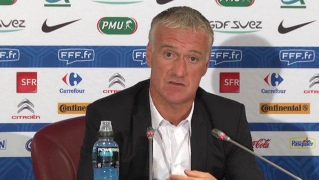 Didier Deschamps justifie les retours de Varane et Rémy