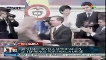 Denuncian acto de corrupción de Alvaro Uribe en Colombia