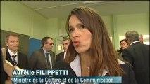 30 ans des FRAC : Interview d'Aurélie Filippetti (Toulouse)