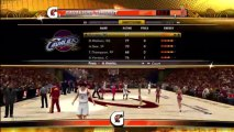 Xbox 360 - NBA 2K13 -  The Association - Game 1 Cleveland Cavaliers vs Washington Wizards