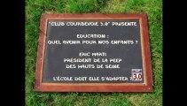 Courbevoie 3.0 débat sur l'éducation - Eric Marti et Arash Derambarsh