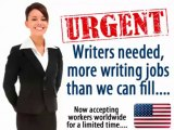 Make Money With Real Writing Jobs - Get Paid Real Money To Write!