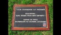 Courbevoie 3.0 débat sur l'éducation - Sophie de Tarlé et Arash Derambarsh