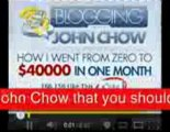 Blogging With John Chow Review Blogging With John Chow