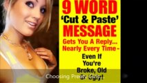 Insider Internet Dating Program - Cut and Paste of 9 Words To Realize Your Fantasy