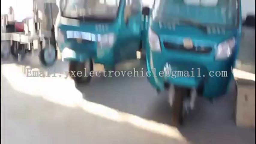 Manned /cargo Whole sealing electric tricycle , enclosed totally electric trike / Electric Trike /electro-trike