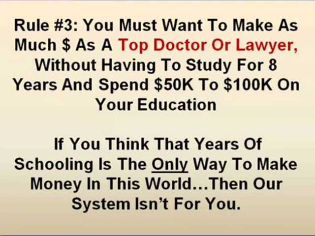 Making Money – no cost income stream – make money online today – residual income opportunities