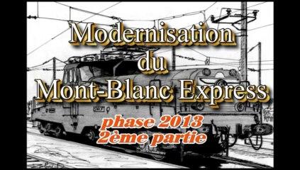 Modernistation du MBE phase 2 part 2 PR Passy