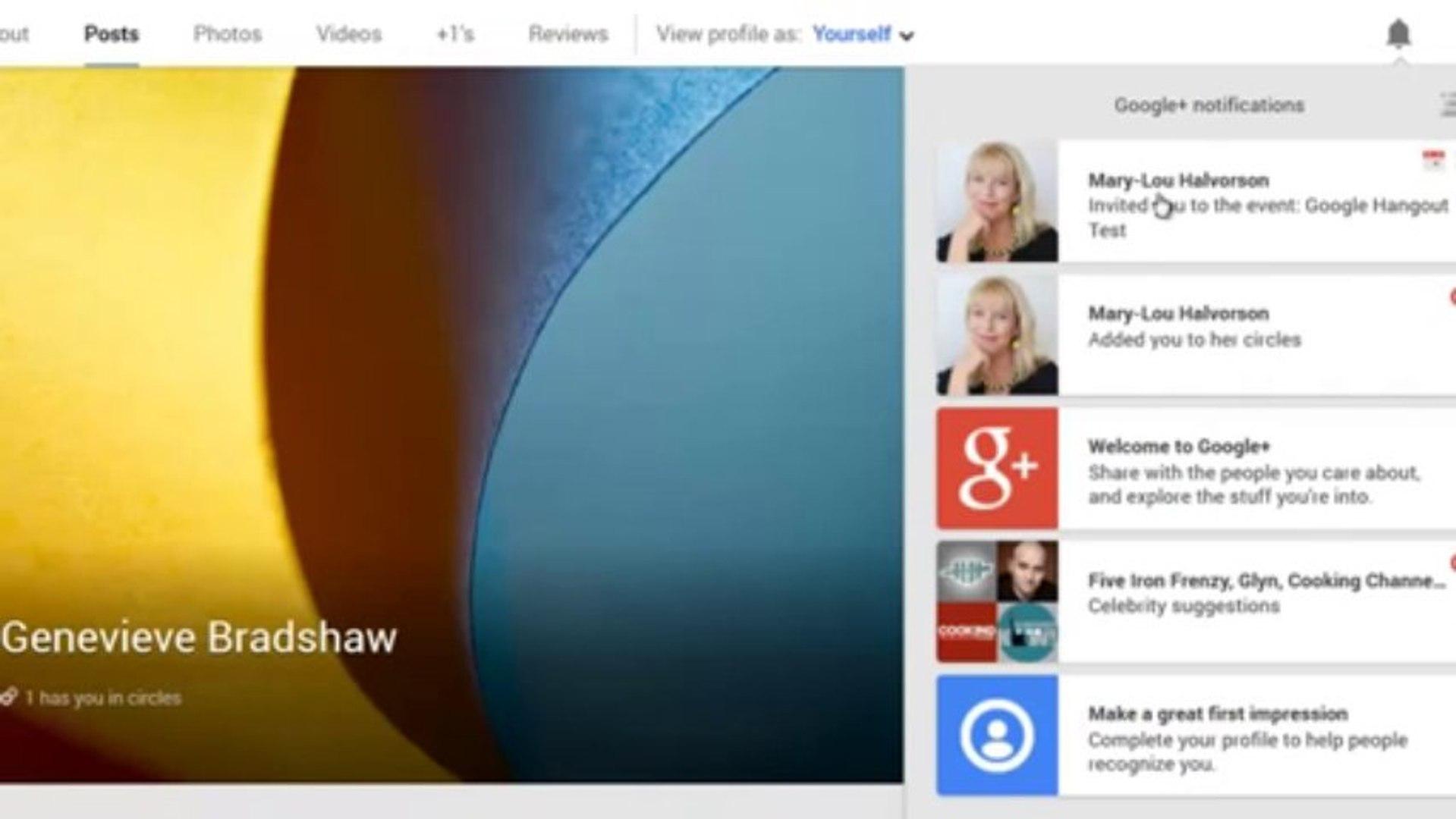 Google Hangout Event Tutorial October 2013 - How to Set Up and Respond to Google Hangout Event
