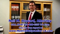 Best Los Angeles Malpractice Attorney Santa Monica Malpractice Lawyer - Neil Howard Attorney