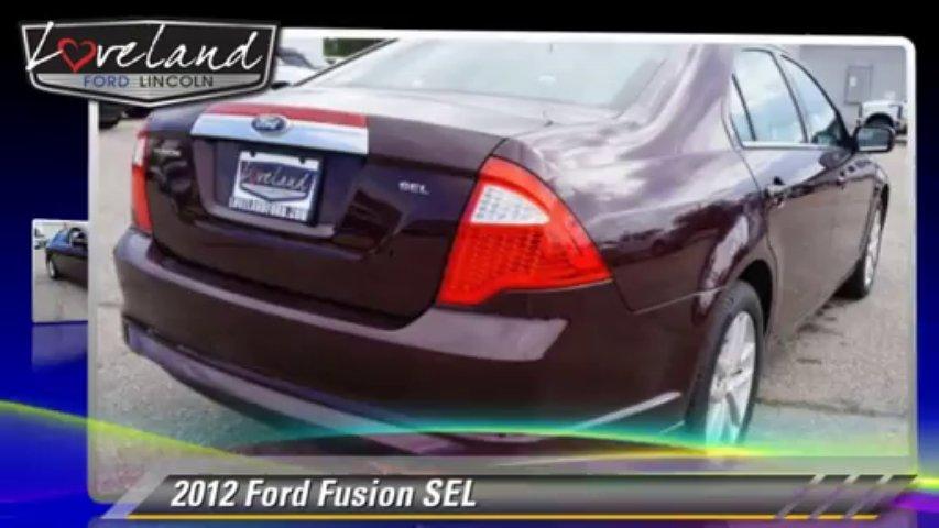 2012 Ford Fusion SEL – Loveland Ford, Loveland