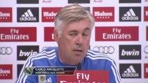 Carlo Ancelotti y la titularidad de Morata