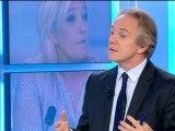 """Politique Première: Marine Le Pen refuse l'appellation """"extrême-droite"""" pour le FN - 04/10"""