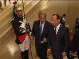 55 ans de la Ve République: la classe politique oublie presque ses divisions - 03/10