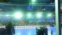 Pauc Handball - saint raphael le 27/09/2013 - Show laser