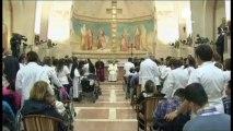 Le pape sur les traces de Saint François d'Assise