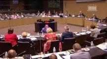 intervention lors de la table ronde sur la gestion des matières et déchets radioactifs - 2 octobre 2013
