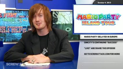 Hard News 10/04/13 - GTA Online, Mario Party 3DS, and SimCity - Hard News