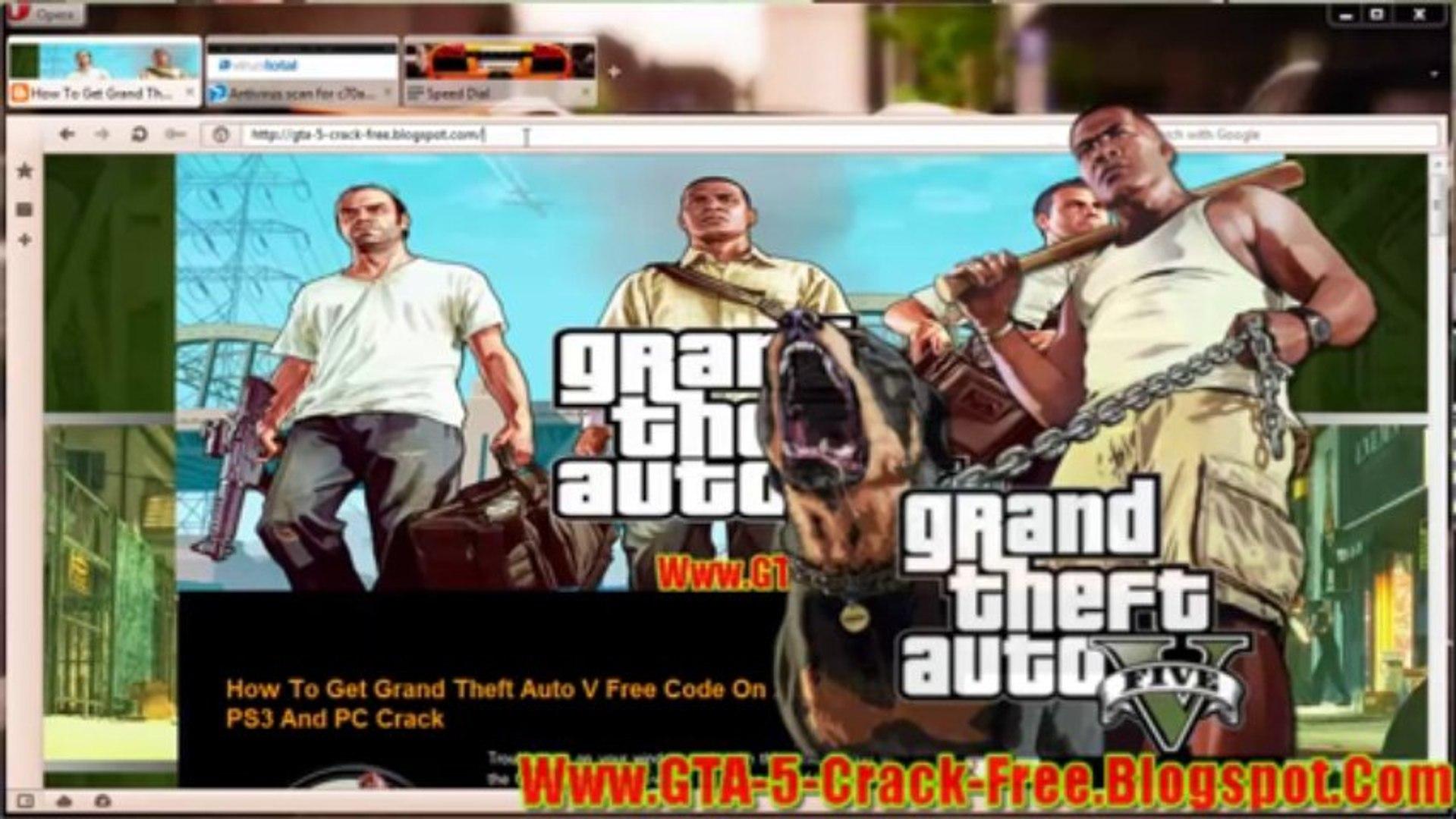 Grand Theft Auto 5 Free Redeem Code On Xbox360/PS3